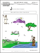 Activity Sheets for younger children