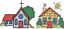 Children's Worship Bulletins are perfect for Church services and can be used at home