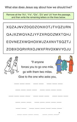 Bible Study Activities for Kids | Children's Worship Bulletins